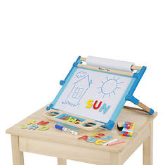 Melissa & Doug Deluxe Two-Sided Magnetic Tabletop Easel