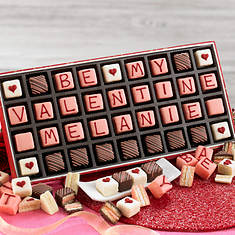 Personalized Be My Valentine Petits Fours