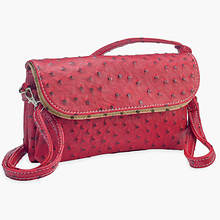 6 Pocket Clutch/Shoulder Bag-Red