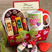 Hearts Gift Basket