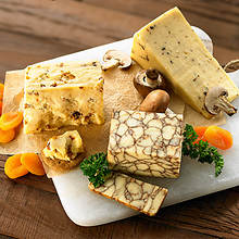 Adventures in Cheese Artisan Trio with a FREE Cheese Board