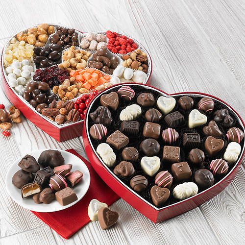 Heart Box Samplers