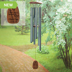 Personalized Two Become One Wind Chimes