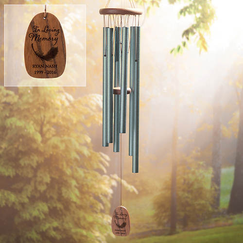 Personalized In Loving Memory Wind Chimes