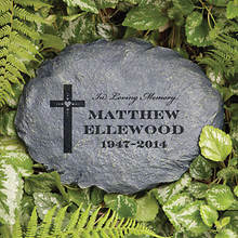 Personalized In Loving Memory Garden Stone-Loved One