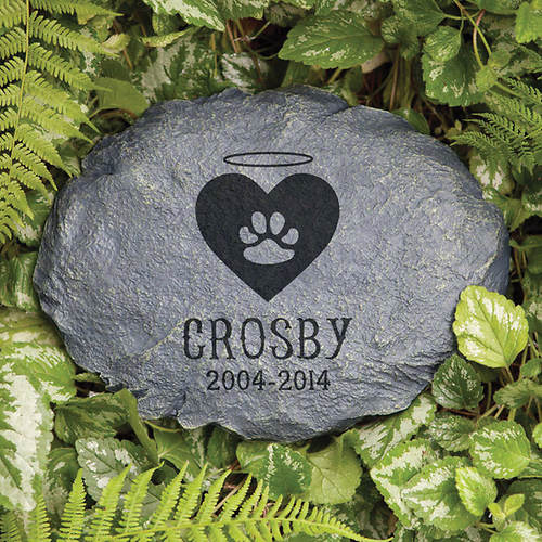 Personalized In Loving Memory Garden Stone - Beloved Cat