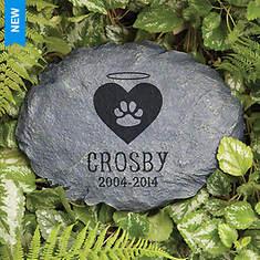 Personalized In Loving Memory Garden Stone - Beloved Cat