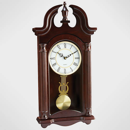 Wood Quartz Pendulum Wall Clock