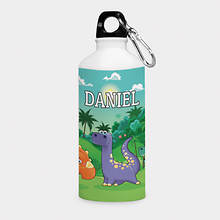 Personalized Dinosaurs Water Bottle
