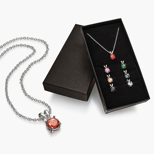 7-Pc. Swarovski® Crystal Pendant Set