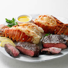 Steak & Lobster Dinner for 2
