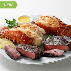 Steak & Lobster Dinner for 2