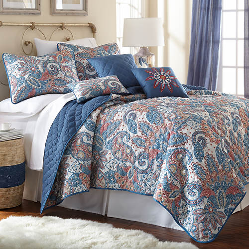 Studio 6-Piece Reversible Quilt Set