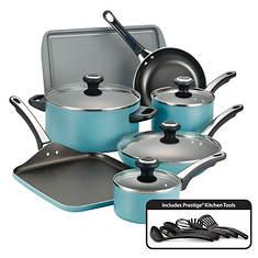 Farberware High-Performance 17-Piece Cookware Set