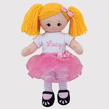 Personalized Ballerina Doll-Blonde