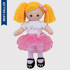 Personalized Blonde Ballerina Doll