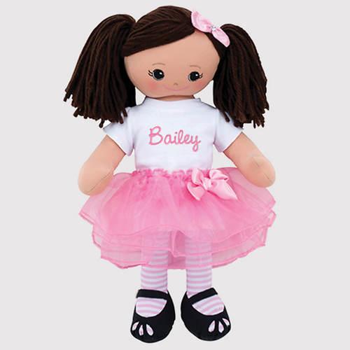 Personalized Ballerina Doll-Hispanic