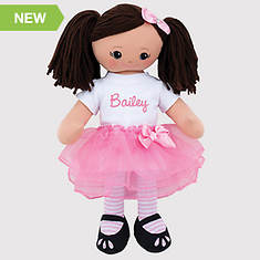 Personalized Ballerina Doll-Hispanic