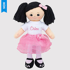Personalized Asian Ballerina Doll