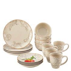 Paula Deen Orchard Harvest 16-Piece Dinner Set