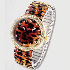 Stretch Watch-Leopard