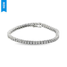 Sterling Silver .22 ct. tw. 7