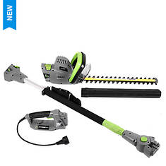 Earthwise 2-in-1 Hedge/Pole Trimmer - Opened Item
