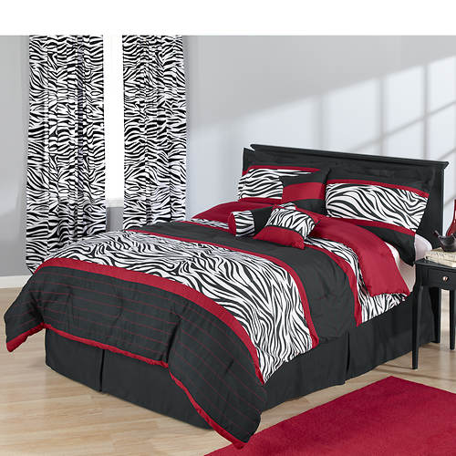 Zaire 7-Piece Bed-In-A-Bag Set