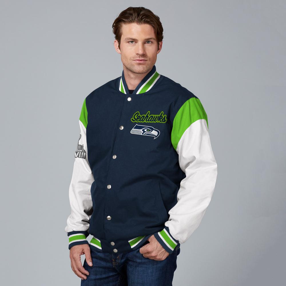 e0c183fed Details about Men's NFL Elite Varsity Jacket