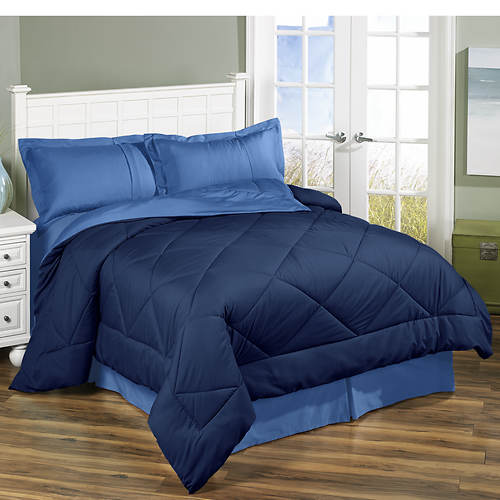 Reversible Down Alternative Comforter Set