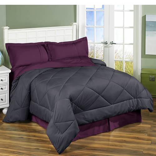 3PC Reversible Comforter Set