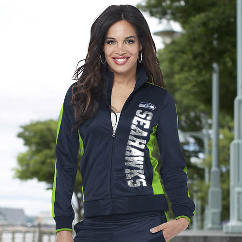 Women's NFL Drop Back Track Jacket