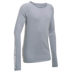 Under Armour Girls' Favorite Knit LS Tee