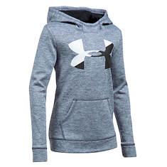 Under Armour Girls' Novelty Armour Fleece Big Logo Hoodie