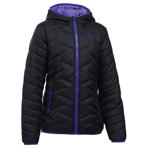 Under Armour Girls' ColdGear Reactor Hooded Jacket