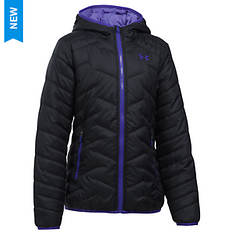 Under Armour Girls' Coldgear Reactor HoodedJacket