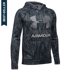 Under Armour Boys' SG AF Nov. Big Logo Hoodie