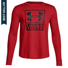 Under Armour Boys' Textured Tech Crew