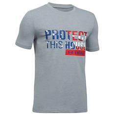 Under Armour Boys' Freedom Protect This House Short Sleeve Tee