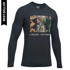 Under Armour Men's Camo Knockout Logo LS Tee