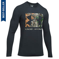 Under Armour Men's Camo Knockout Logo LS Tee