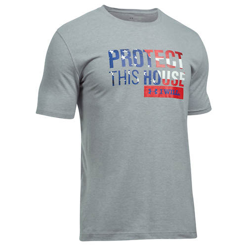Under Armour Men's Freedom Protect This House SS Tee