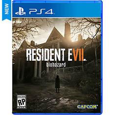 PS4 Resident Evil 7 Biohazard
