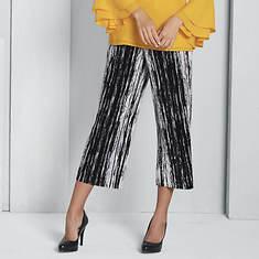 Pleated Pull-On Pant