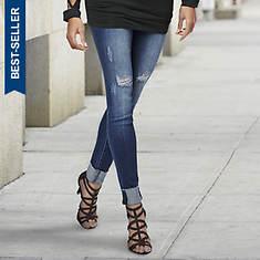 Skinny Cuffed Jean