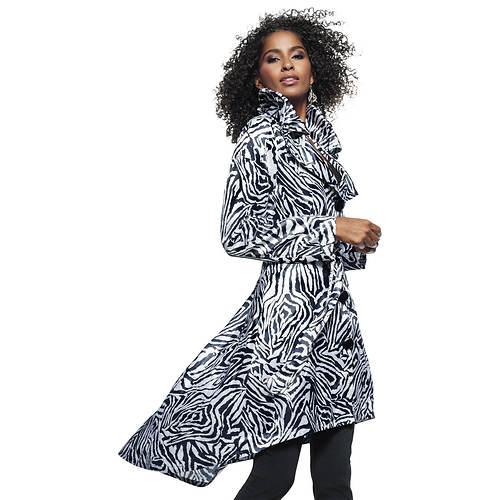 Zebra-Print Coat