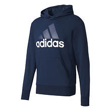 adidas Men's Essentials Linear French Terry Pullover Hoodie