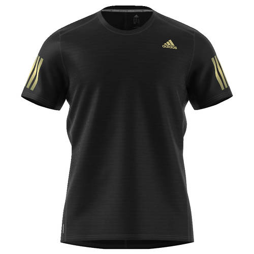 adidas Men's Response Short Sleeve Gold Tee