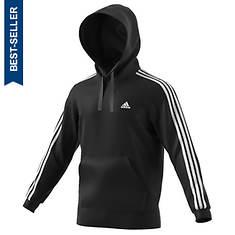 adidas Men's Essentials 3S Pullover Brushed Fleece Hoodie