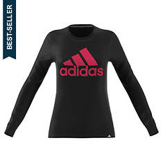 adidas Women's Badge of Sport Classic LS Tee